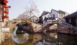 The Twin Bridges in Zhouzhuang
