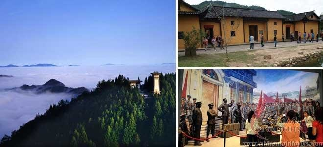 Jinggang Mountain, Red Tourist Destination