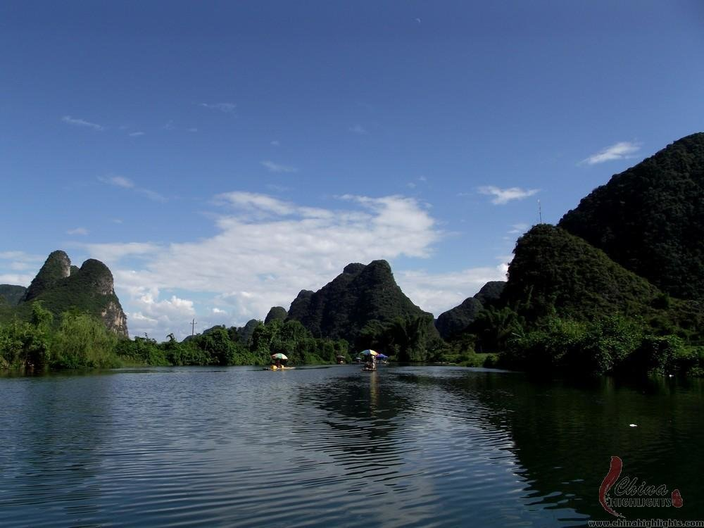 Charming scenery of Yulong River
