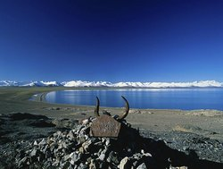 Spring Scenery of Lake Namtso