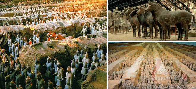 Most Significant Historical Sites: Terracotta Army