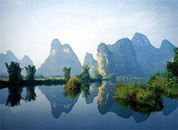 The Li River in Yangshuo