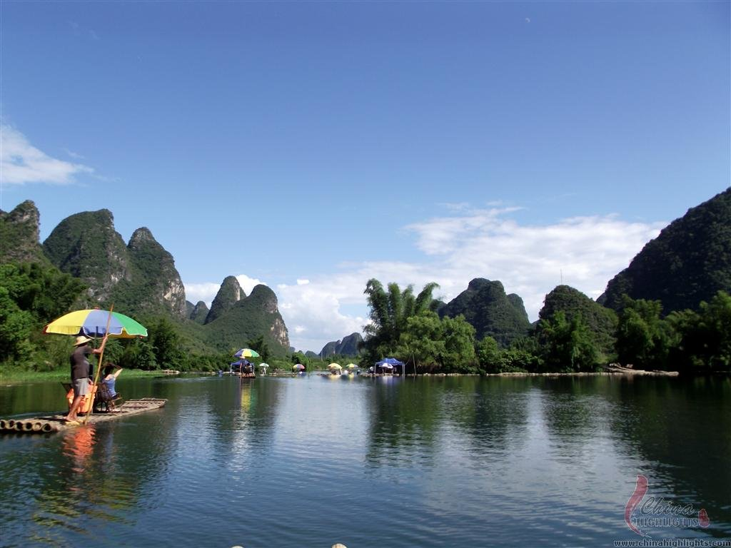 Yulong rafting