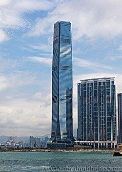 Hong Kong's International Commerce Center Tower