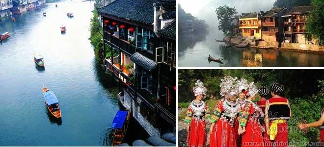 Fenghuang Ancient Town in September