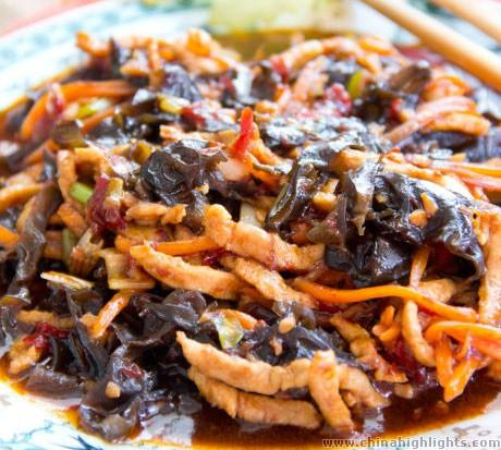 Fish-Flavored Shredded Pork