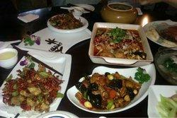 The Vegetarian Dishes in Yongtai Temple Restaurant