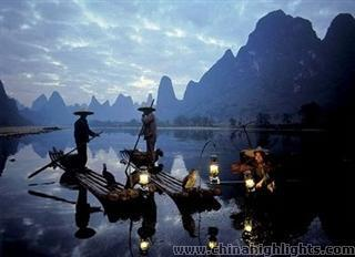 Fishing Lights on the Li River