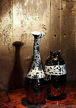 Chinese Blue and White Porcelain Vases