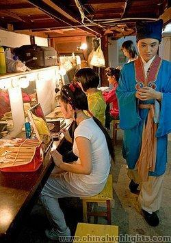The Dressing Room of Huangmei Opera