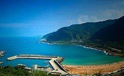 Taiwan Coast Summer Scenery