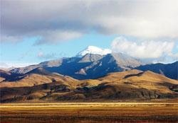Tibet in autumn