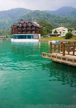 Scenic Sun Moon Lake/ Rearing Pond Village