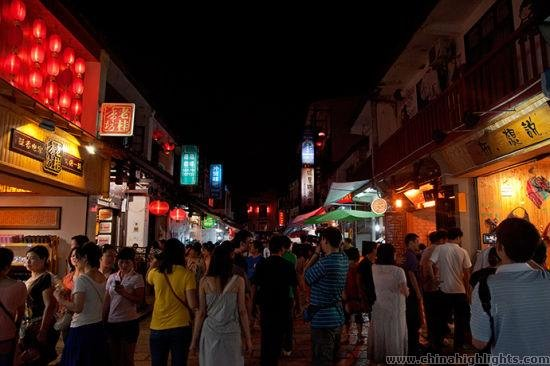 Yangshuo West Street Night
