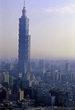 Taipei 101 Tower Tallest Building In Taiwan