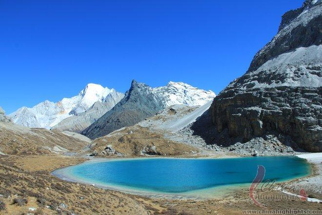 Milk Lake in Yading