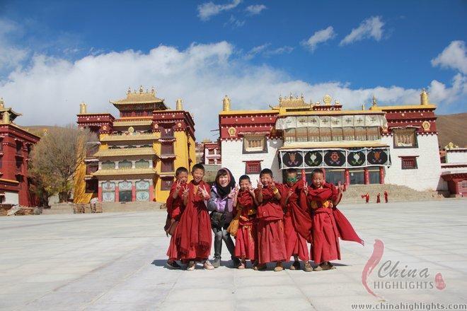 Litang Monastery in Gyantze Tibetan Autonomous Prefecture