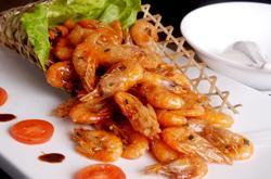 flavored shrimps of Lijiang River