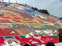 Start of the Shigatse Thangka Festival (Buddha Unfolding Festival)