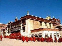 Cham in Tshurpu Monastery