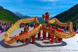 Huanglong Temple Fair