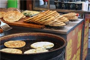 Local snacks on sale at Huimin Street
