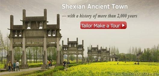 Shexian County, Huangshan
