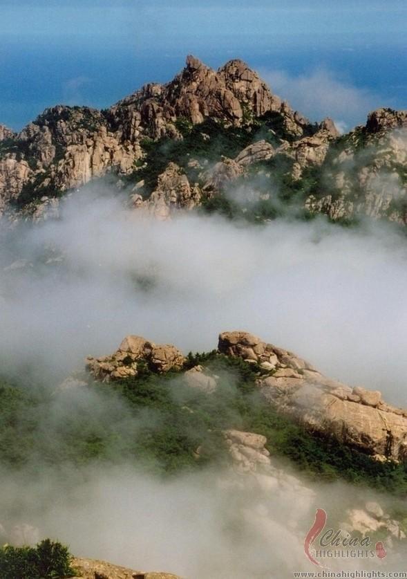 Qingdao Laoshan Mt The Highest Mt Along China S Coastline