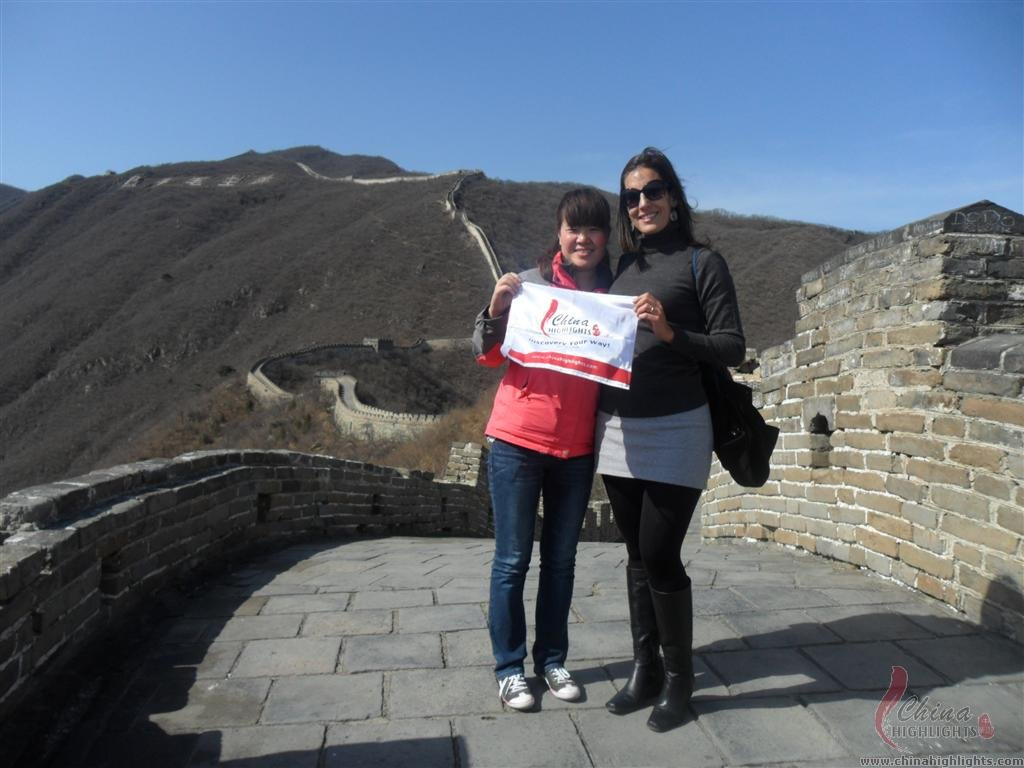 walking the Beiing Great Wall