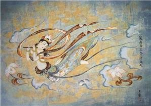 Mogao Grottoes Mural Painting