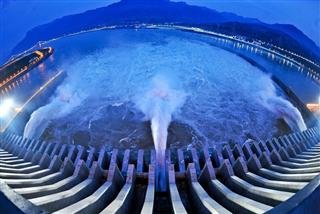 Three Gorges Dam of President Prime