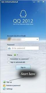qq international app