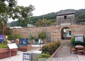 The Hong Kong Tung Chung to Tai O Walking Trail