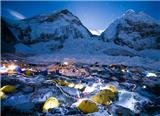 Rongbuk Monastery(with Mt.Everest)