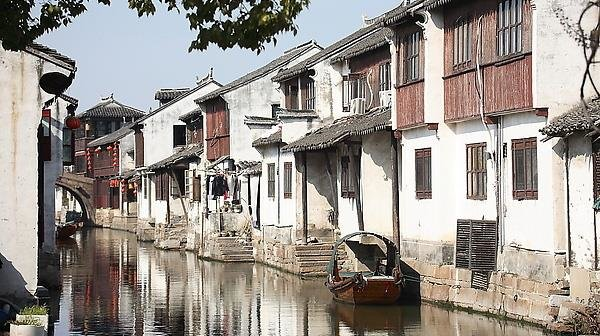 Water lanes of Zhouzhuang Water Town
