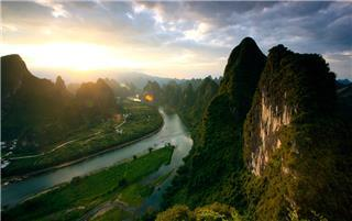 Xianggong Hill Li River Guilin