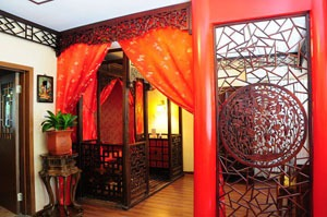 A traditional hutong hotel