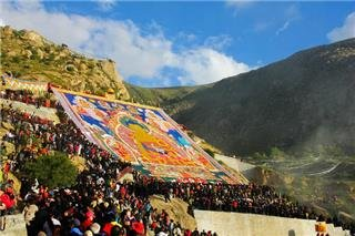 Tibet Shoton Festival 2012 Travel Experience
