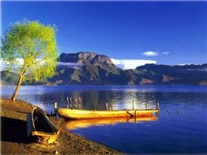 Go canoeing on Lugu Lake