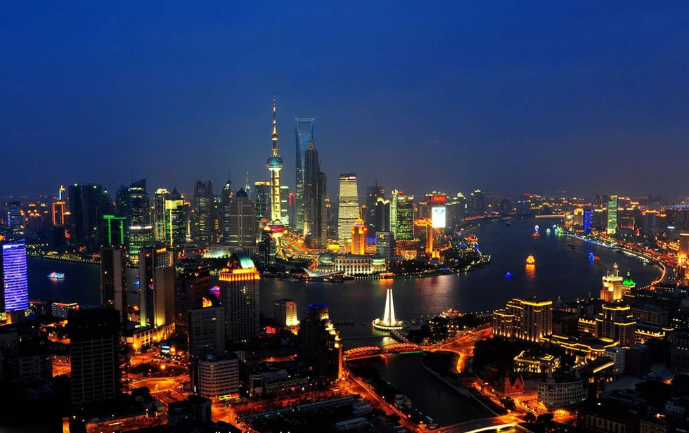 Shanghai Night Scenery