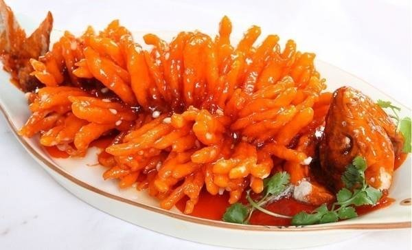 Delicious food, the Squirrel-shaped Mandarin Fish