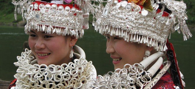 guiyang miao minority girls