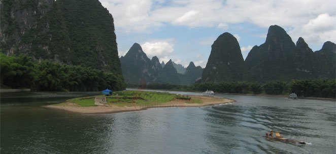A cruise along the Li River between Guilin and Yangshuo is an unforgettable experience.