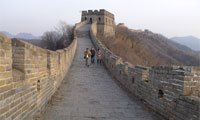 The Mutianyu Great Wall, Beijing
