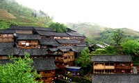 longji minority village