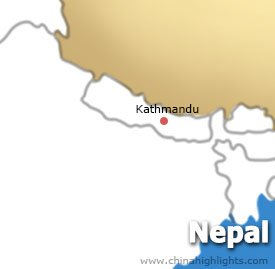 Kathmandu Location Map