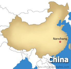 Nanchang Location Map