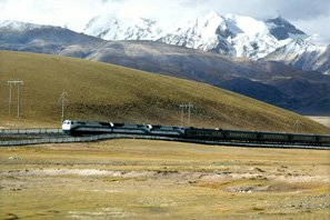 travel tibet by train