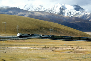 Trains to Tibet  from Beijing, Shanghai,  Guangzhou, and Chengdu