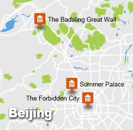 bj-70 Beijing Map